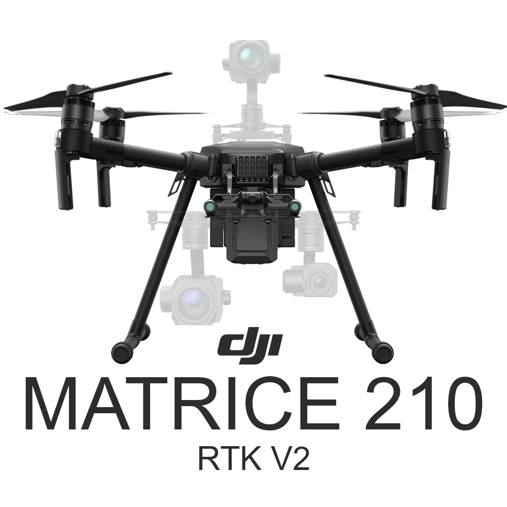 DJI Matrice 210 RTK V2 with D-RTK 2 High Precision GNSS Mobile Station