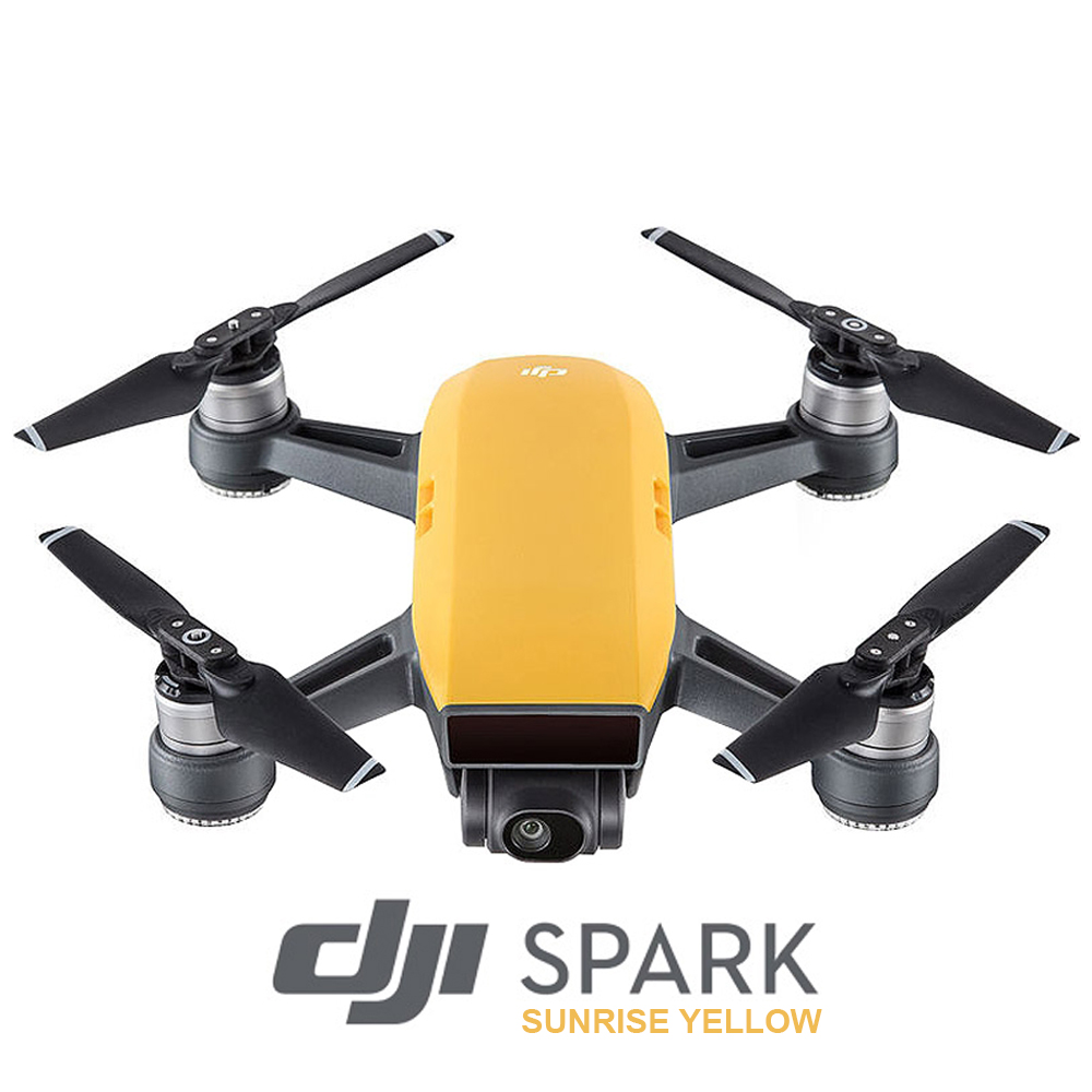 DJI Spark  - Sunrise Yellow (Fly More Combo)