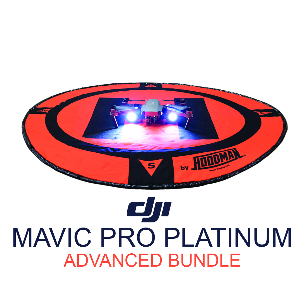 DJI Mavic Pro Platinum Advanced Bundle