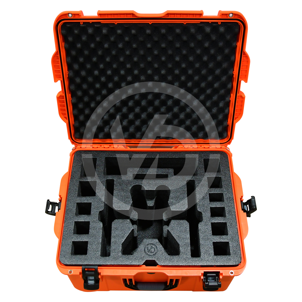 Orange Weatherproof Hardcase for Yuneec Typhoon H, Typhoon H Plus (+) and H520