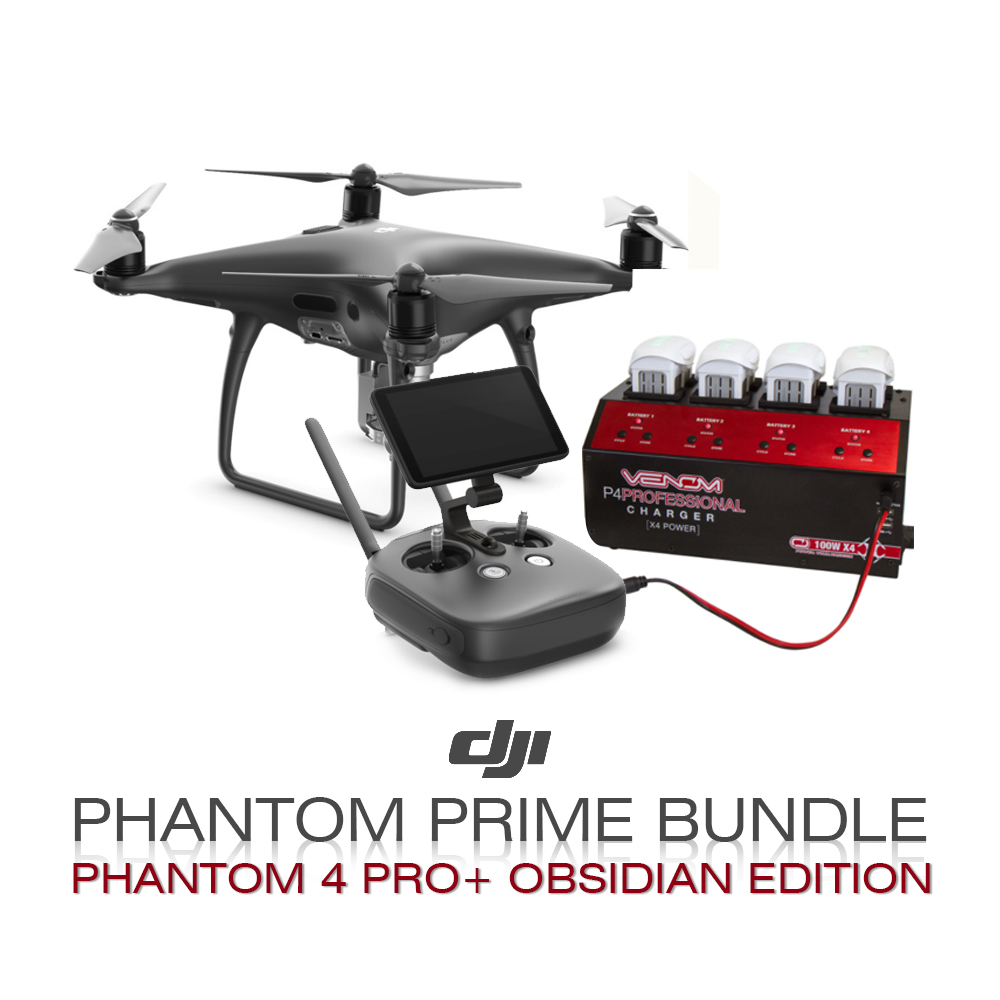 DJI Phantom Prime Bundle  (Phantom 4 Pro + Obsidian)