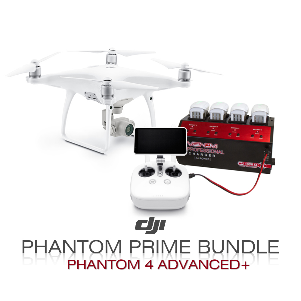 DJI Phantom Prime Bundle  (Phantom 4 Advanced +)