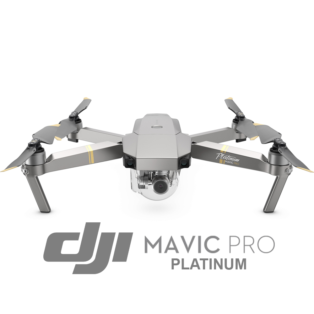 Dji Mavic Pro Platinum Fly More Combo Drones