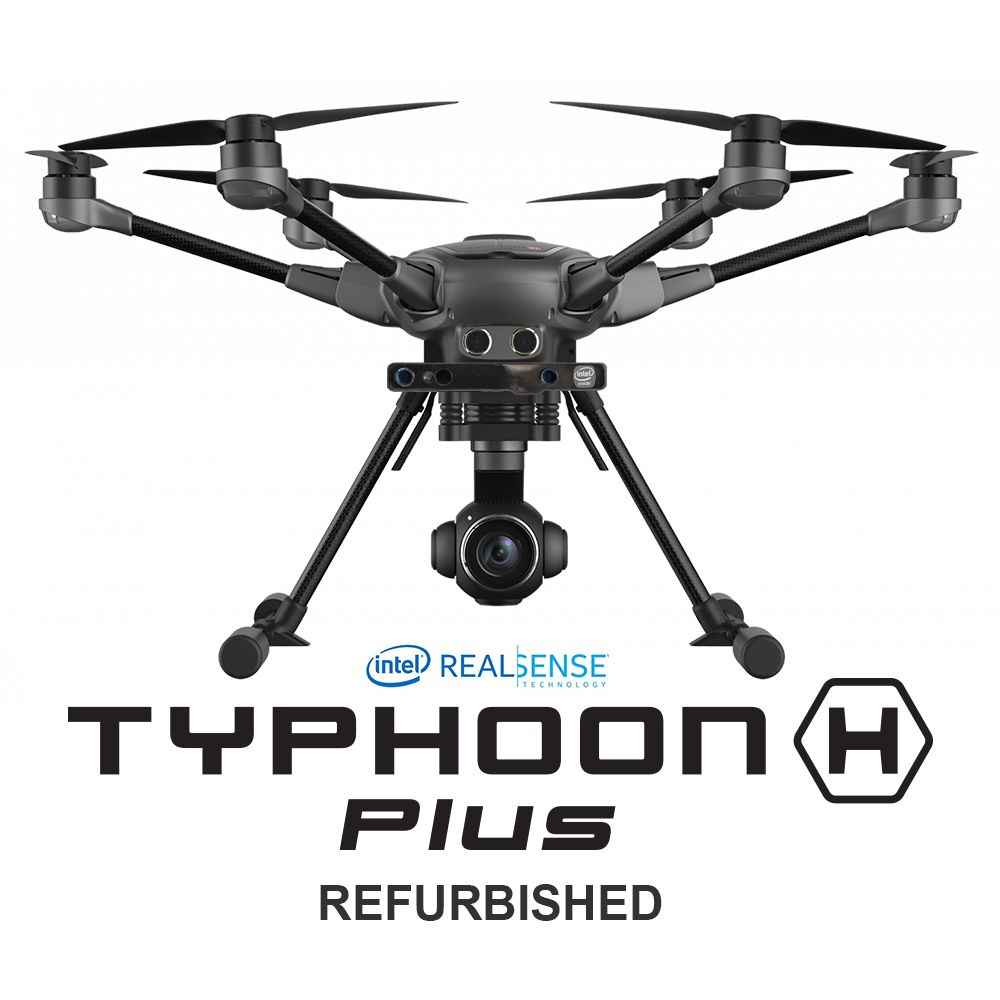 Refurbished Yuneec Typhoon H Plus with Intel RealSense