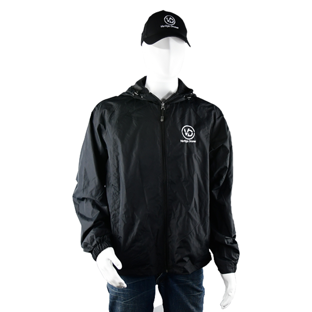 Vertigo Drones Windbreaker (Black)