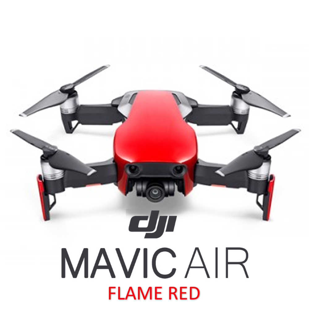 dji mavic air flame red fly more combo. Black Bedroom Furniture Sets. Home Design Ideas