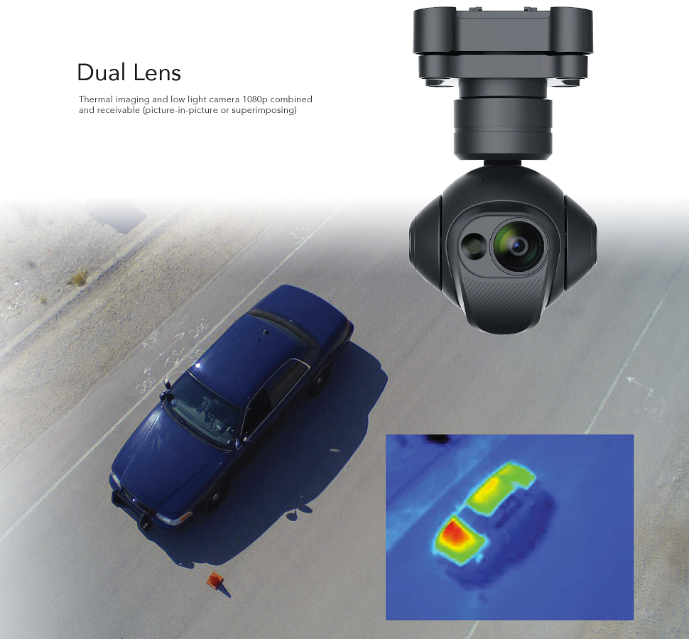 Yuneec CGOET Dual Lens