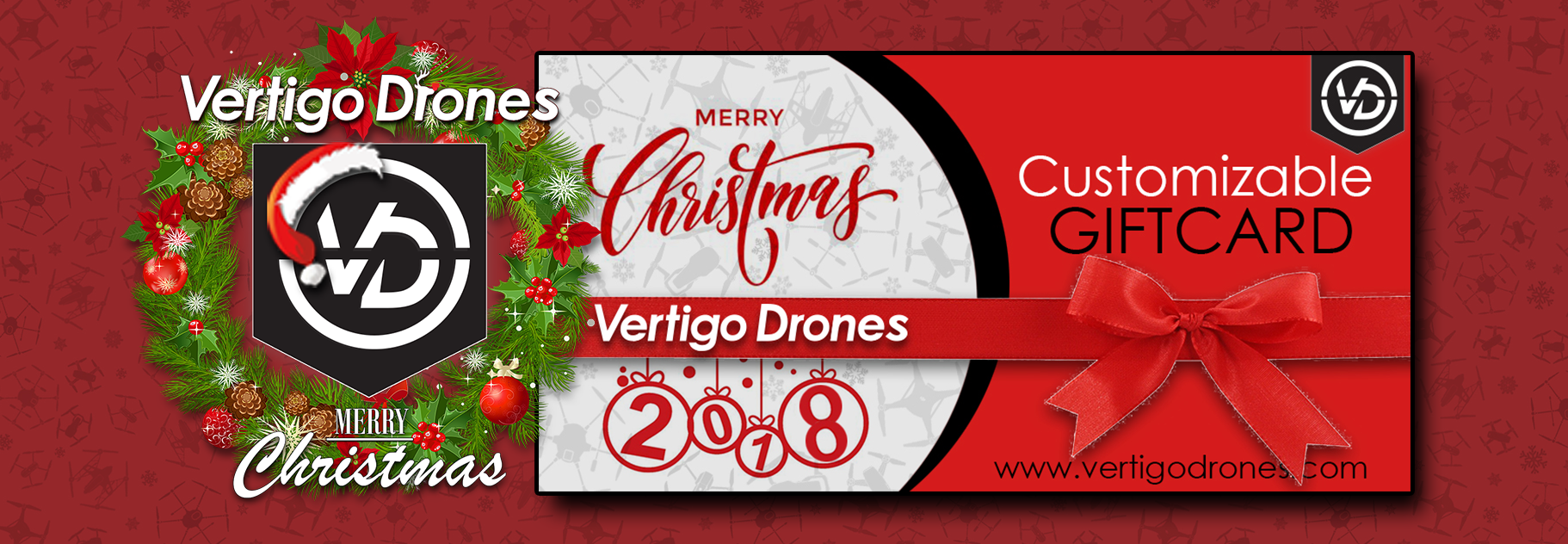 Vertigo Drones Customizable Gift Card