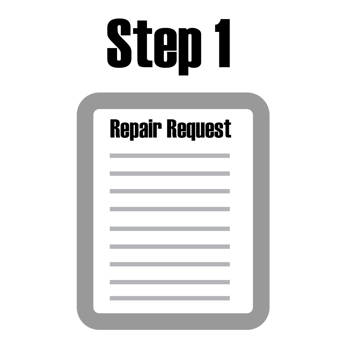Fill Out Repair Request