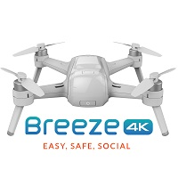 Yuneec Typhoon Breeze Selfie Drone for Android and iPhone
