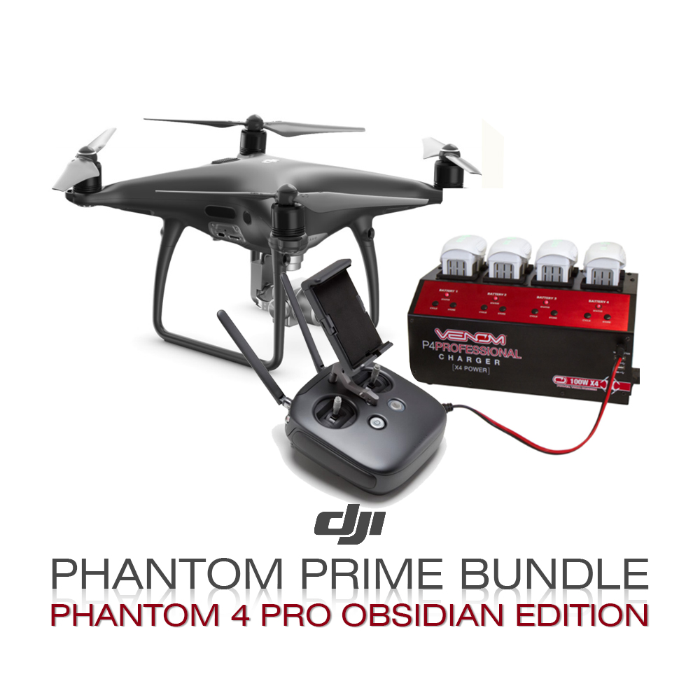 DJI Phantom Prime Bundle  (Phantom 4 Pro Obsidian)