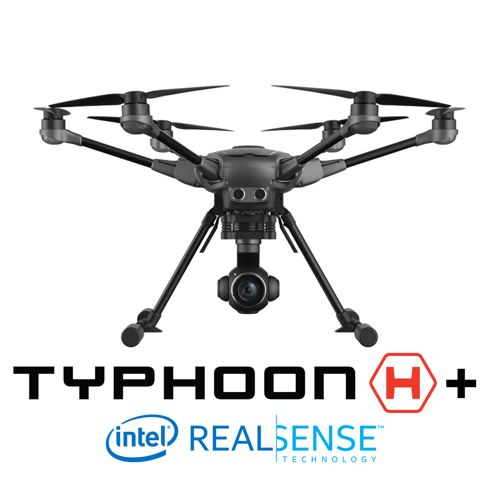 Yuneec Typhoon H+ (Plus) with Intel RealSense
