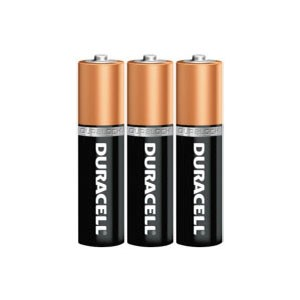3-Pack of Duracell AAA Batteries