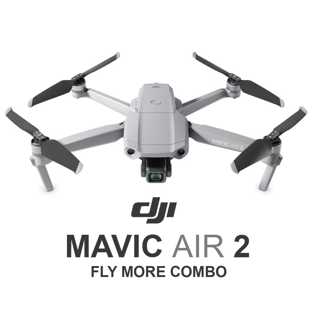 DJI Mavic Air 2 Fly More Combo - Enhanced HDR with 34 ...