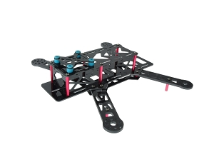 NightHawk 250 Pro Carbon Fiber Racing Quadcopter Frame