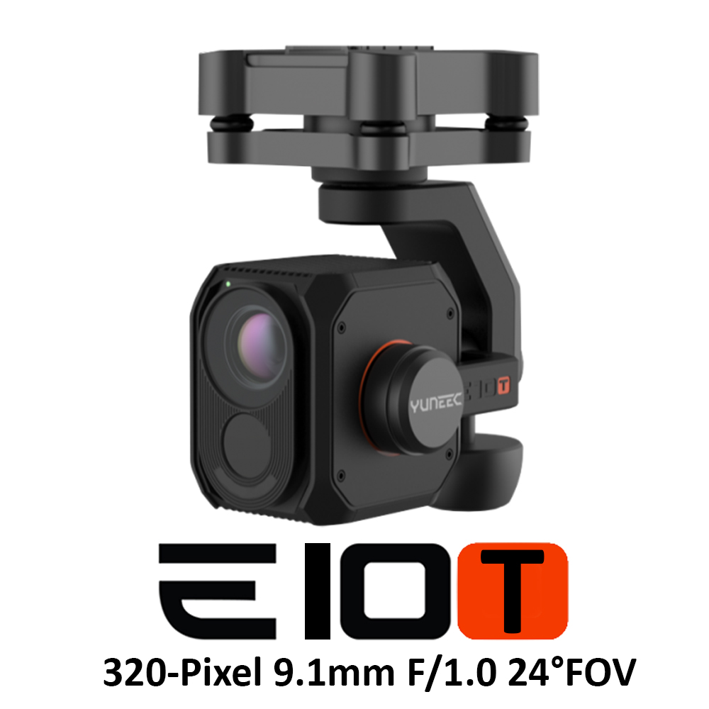 Yuneec E10T Thermal Camera (320-Pixel Thermal Resolution 9.1mm F/1.0 24°FOV)