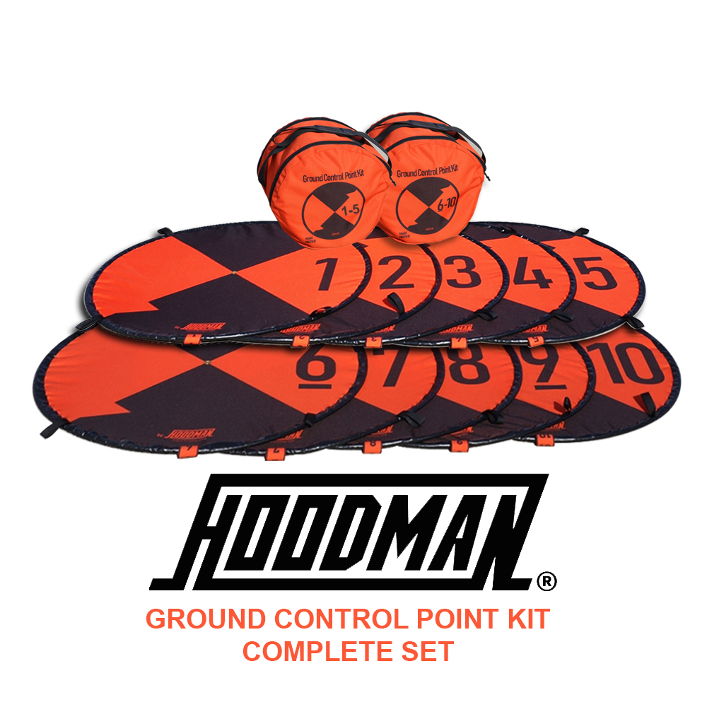 Hoodman Ground Control Point Kit (1-10) for Photogrammetry Surveying (HGCP110)