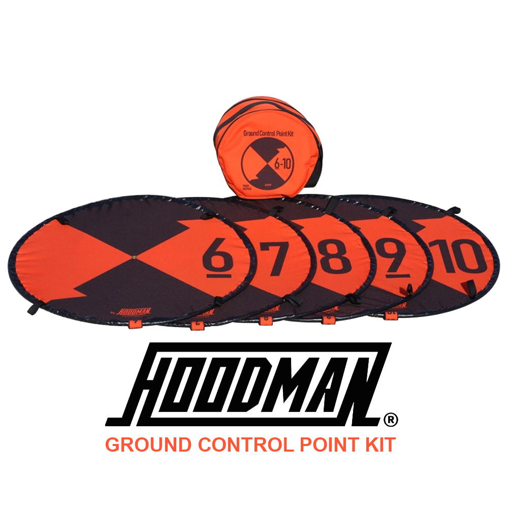 Hoodman Ground Control Point Kit (6-10) for Photogrammetry Surveying (HGCP610)