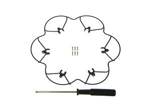 Inguity® XR Micro HexDrone - Replacement Blade Guard Kit