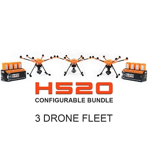 Yuneec H520 Configurable Bundle 3 Drone Fleet