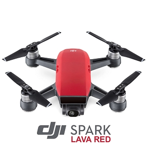 DJI Spark - Lava Red (Fly More Combo)