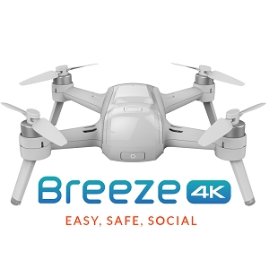 Yuneec Breeze - Selfie Drone for iPhone and Android