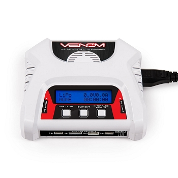 Venom 2S 3S 4S AC/DC RC DUAL 2 Cell LiPo Battery Balance Charger