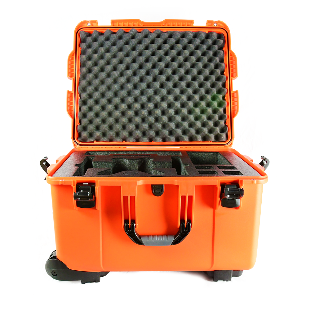 Orange Weatherproof Hardcase for Yuneec Typhoon H | Typhoon H Plus (+) | H520