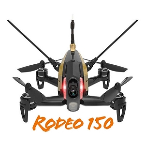 Walkera Rodeo 150 3D Aerobatic Mini FPV Racing Drone (Black)