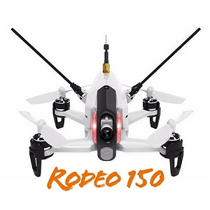 Walkera Rodeo 150 3D Aerobatic Mini FPV Racing Drone (White)