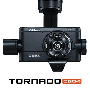 Yuneec CGO4 Gimbal Kit - 4K Camera for Tornado H920 Drone
