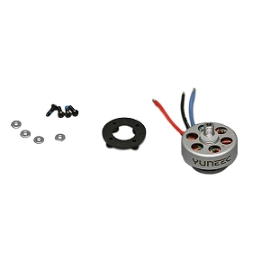 Yuneec Brushless Motor A, Clockwise Rotation (Left Front / Right Rear): Q500, Q500+, 4K