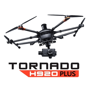 Yuneec Tornado H920+ Plus Pro Bundle - Commercial Hexacopter with Pro Action Grip and CGO4
