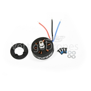 Yuneec Q500 4K Black Brushless Motor B, Counter-Clockwise Rotation (Right Front / Left Rear)