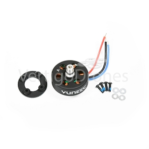 Yuneec Q500 4k Black Brushless Motor A, Clockwise Rotation (Left Front / Right Rear)