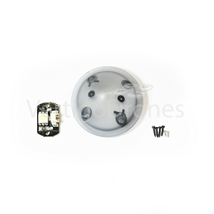 Yuneec Q500 4K - Front (Below Motor) LED and Cover, White