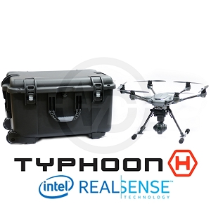 Yuneec Typhoon H with RealSense and Weatherproof Hard Case