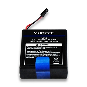 8700mAh 1Cell/1S 3.6V LiTon Battery: Yuneec ST24