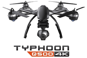Yuneec Typhoon Q500 4K - UHD Camera Drone with GPS