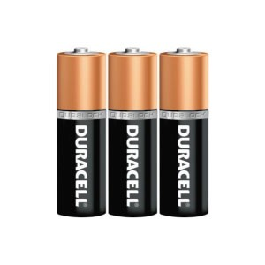 3-Pack of Duracell AA Batteries