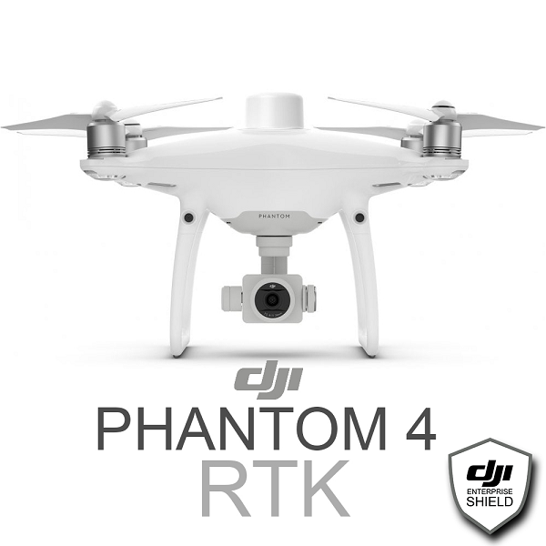 DJI Phantom 4 RTK + D-RTK 2 Mobile Station Combo with Enterprise Shield