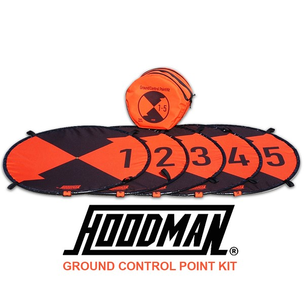 Hoodman Ground Control Point Kit (1-5) for Photogrammetry Surveying (HGCP15)