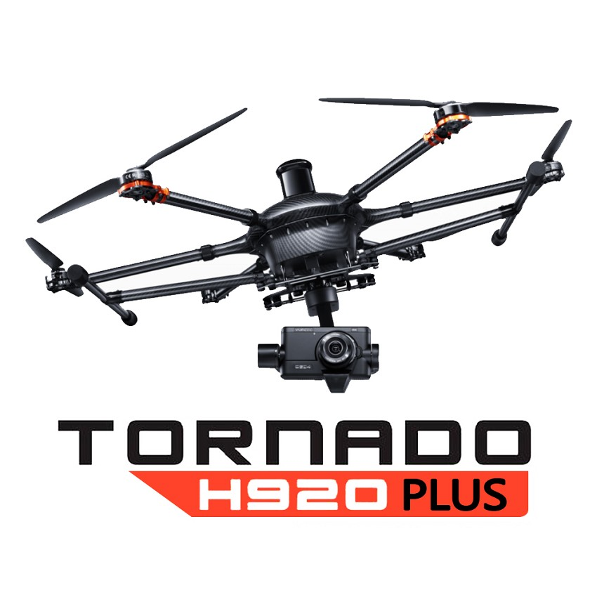 Yuneec H920+ Pro Bundle - Commercial Hexacopter with Pro Action Grip and CGO4