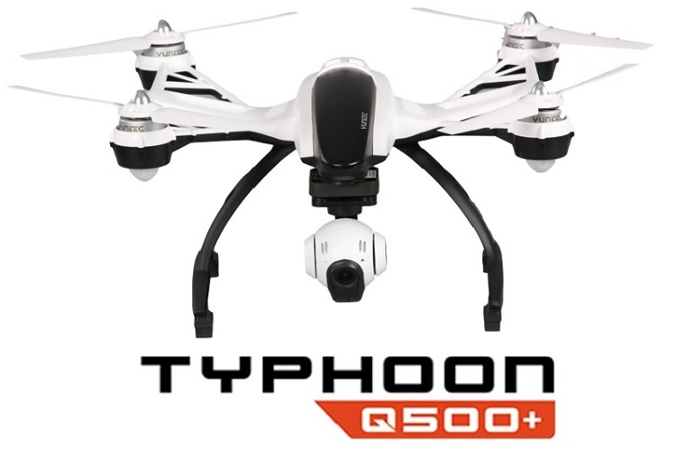 Yuneec Typhoon Q500+ - HD Camera Drone with GPS