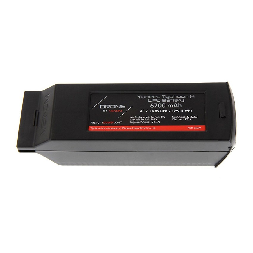 Yuneec Typhoon H 4S 6700mAh 14.8 LiPo Battery