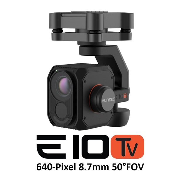 Yuneec E10Tv50 (640-Pixel 8.7mm F/1.0 50°FOV)